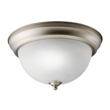 Transitional 1 Light Fluorescent Flush Mount - NI