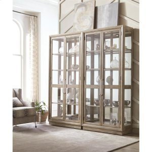 RiversideSophie - Display Cabinet - Natural Finish