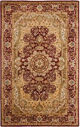 Persian Legend Hand Tufted/Hooked Medium Rectangle (5'x8' - 6'x9') Rug