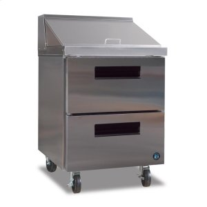 HoshizakiRefrigerator, Single Section Mega Top Prep Table with Drawers