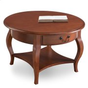Round Coffee Table #10034-BR Product Image
