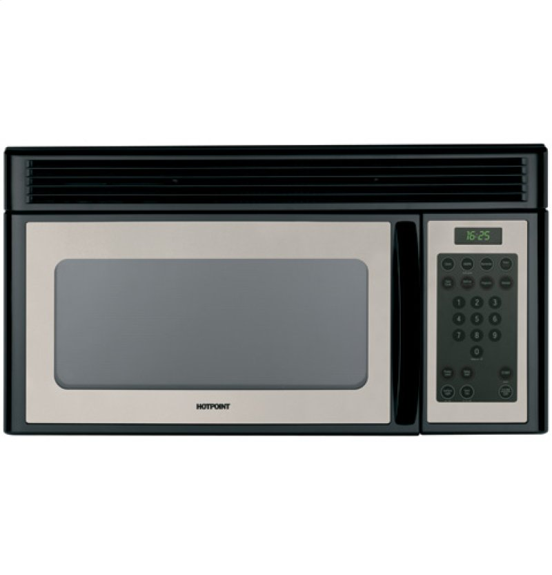 Hotpoint 1 6 Cu Ft Over The Range Microwave Oven