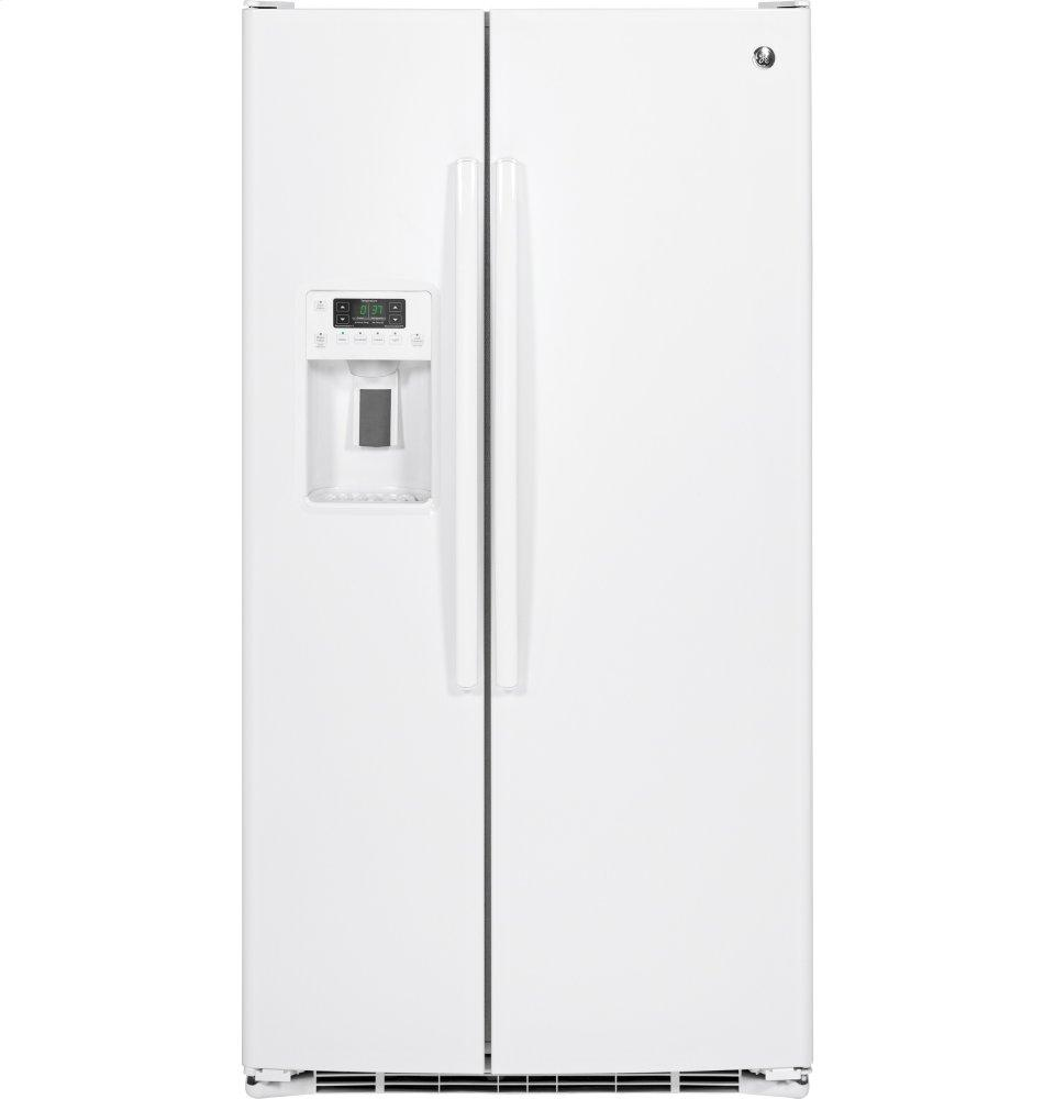GE(R) 25.3 Cu. Ft. Side-By-Side Refrigerator