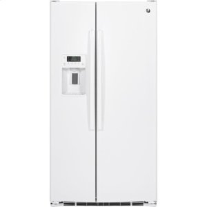 GE® ENERGY STAR® 25.3 Cu. Ft. Side-By-Side Refrigerator - WHITE