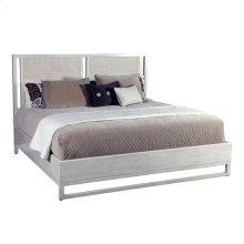 Cane Headboard Peninsula Finish California King Bed