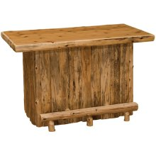 Bar - 5-foot - Natural Cedar - Armor Finish