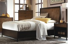 Kateri Curved Panel Bed Queen