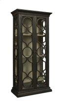 Black Caspian Single Cabinet Product Image