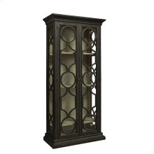 Black Caspian Single Cabinet