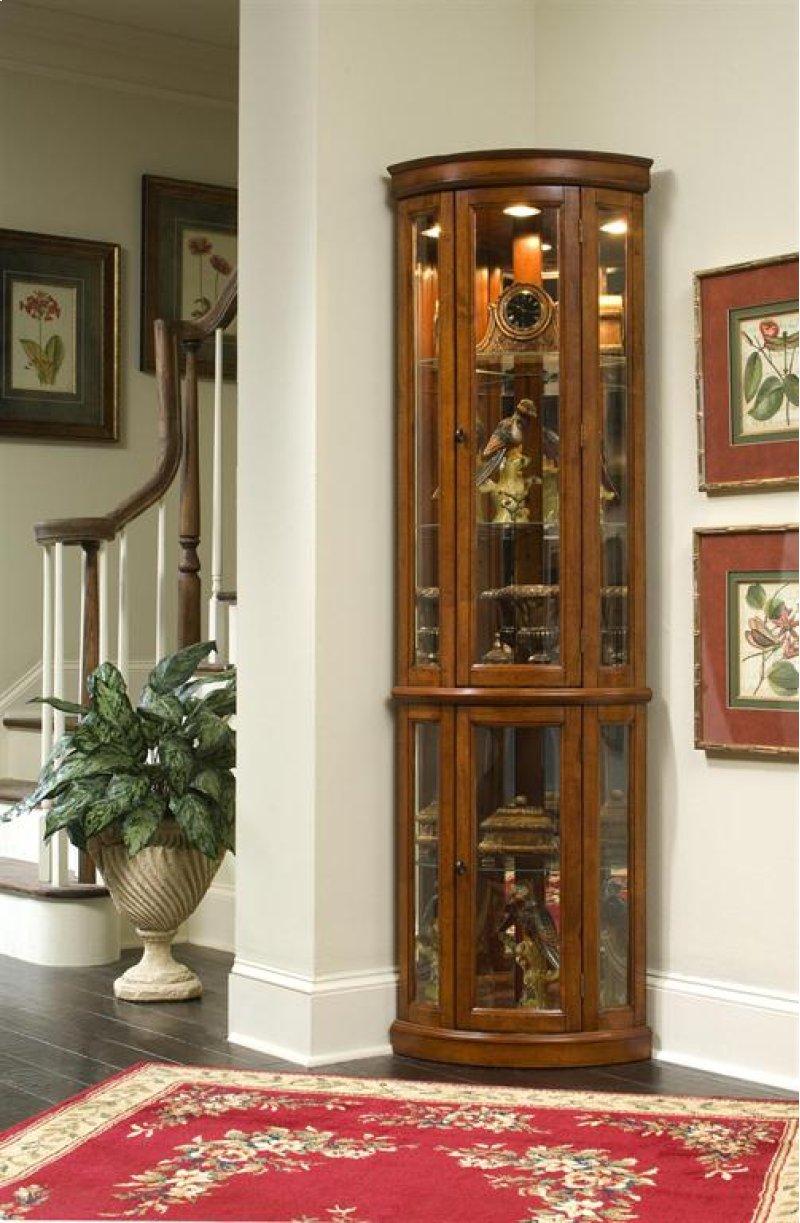 21222 By Pulaski Furniture At Schewels Va Edwardian Ii Corner Curio