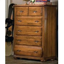 Five Drawer Chest With Extra Deep Bottom Drawer