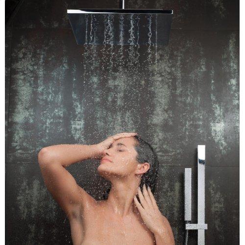 Chrome Ceiling Mount Shower Arm & Flange
