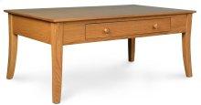 """Loft Leg 1-Drawer Coffee Table, Loft Leg 1-Drawer Coffee Table, 42""""x22"""""""