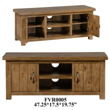 17.3X47.2X19.7 TV Stand, 1 pk, 12.67'
