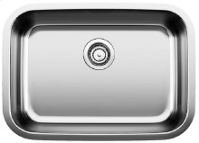 Blanco Stellar® Medium Single Bowl - Stainless steel refined brushed finish