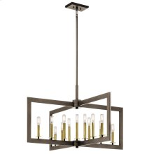 Cullen Collection Cullen 13 Light Linear Chandelier in OZ