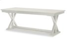 Everyday Dining by Rachael Ray Trestle Table - Sea Salt Product Image
