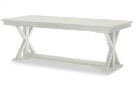 Everyday Dining by Rachael Ray Trestle Table - Sea Salt