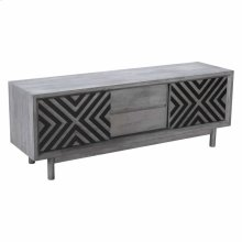 Raven Tv Stand Old Gray