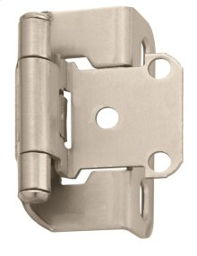 Self-closing, Partial Wrap 1/2in(13mm) Overlay Hinge