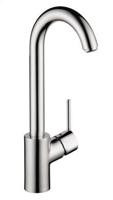 Chrome Bar Faucet, 1.5 GPM