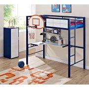 Hoops Metal Basketball Bed Product Image