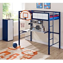 Hoops Metal Basketball Bed