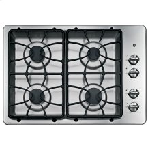 """GE® 30"""" Built-In Gas Cooktop-Internet pricing-Mentio you saw it here!"""