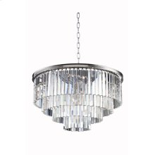 1201 Sydney Collection Pendent Lamp Polished Nickel Finish