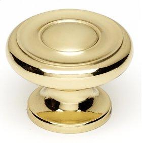Knobs A1050 - Polished Brass
