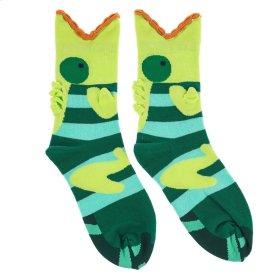 Lizard Big Mouth Socks - Women's Size 9-11