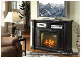 Manchester TV Console/Fireplace