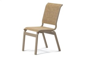 Dining Height Armless Cafe Chair
