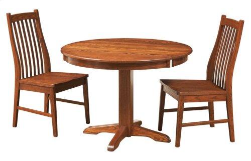 """38"""" Octagon Pedestal Drop Leaf Table"""