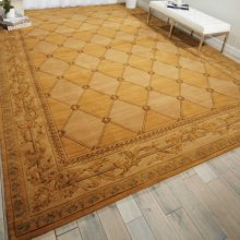 Vallencierre Va21 Gold Rectangle Rug 5'3'' X 8'3''