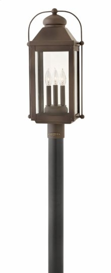 Light Oiled Bronze Anchorage Exterior Wall Mount