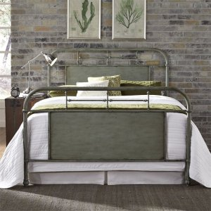 LIBERTY FURNITURE INDUSTRIESQueen Metal Bed - Green