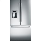 36' Standard Depth French Door Bottom Freezer 800 Series - Stainless Steel Product Image