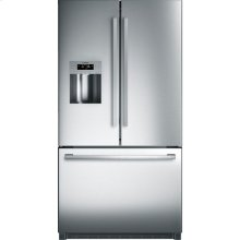 36' Standard Depth French Door Bottom Freezer 800 Series - Stainless Steel