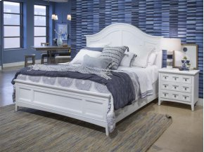 Complete Cal.King Arched Bed with Regular Rails