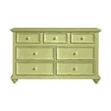 myHaven Double Dresser Sea Grass  Sand Thru