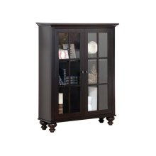 Georgetown Library Cabinet With Sliding doors