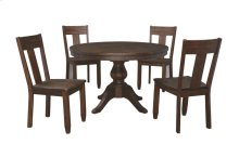 Trudell - Dark Brown 6 Piece Dining Room Set