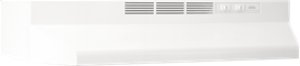 """30"""" White Non-Ducted Under Cabinet Hood"""