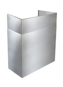 """AEEPD2445SSE - 24"""" to 45"""" Telescopic Flue Extension for Outdoor Hoods in a 16"""" Extended Depth Installation"""