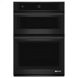 """JENN-AIRBlack Floating Glass 30"""" Microwave/Wall Oven with MultiMode(R) Convection System"""
