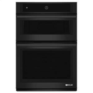 "JENN-AIRBlack Floating Glass 30"" Microwave/Wall Oven with MultiMode(R) Convection System"