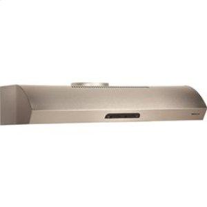 "Broan Broan 300 Cfm 30"" Wide Undercabinet Range Hood In Stainless Steel"