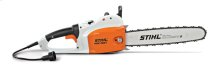 A lightweight electric chainsaw designed for tough, professional use.
