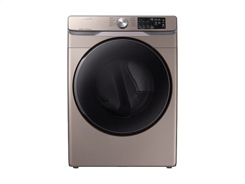 DV6100 7.5 cu. ft. Electric Dryer with Steam Sanitize+ in Champagne